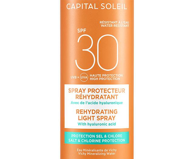 Beach Protect - Fuktgivende Solspray - SPF 30