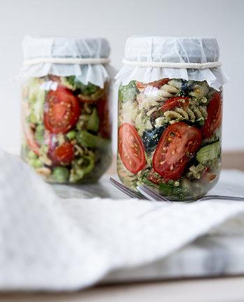 Foodlab - Vi har laget «lunch in a jar»