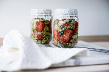 Foodlab - Vi har laget «lunch in a jar»