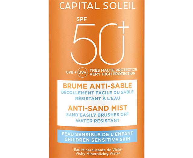 Anti-Sand Misttil barnSPF 50+